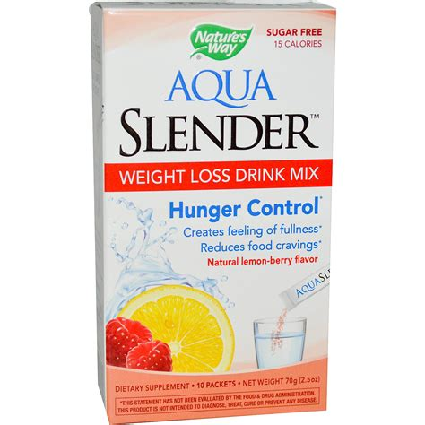 7 weight loss drinks nature s way aqua slender weight loss drink mix lemon
