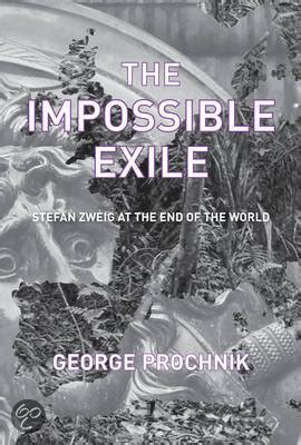 intellectual biography exle bol com the impossible exile george prochnik