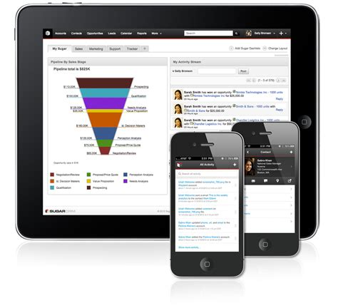 sugarcrm mobile app mobile crm software solution and applications sugarcrm