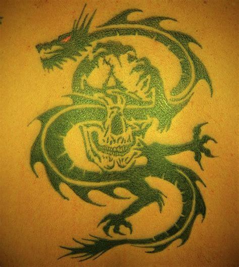 tattoo dragon and skull tattoo dragon skull tattoo dragon