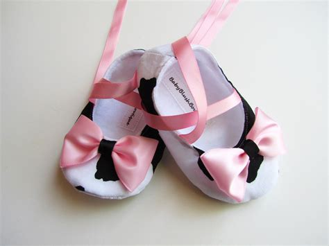 baby ballerina slippers baby shoes moo cow soft ballerina slippers baby booties
