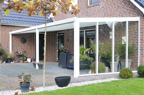 überdachte terrasse alu glas v 230 gpartier af aluminiumshegn st 229 lhegn komposithegn