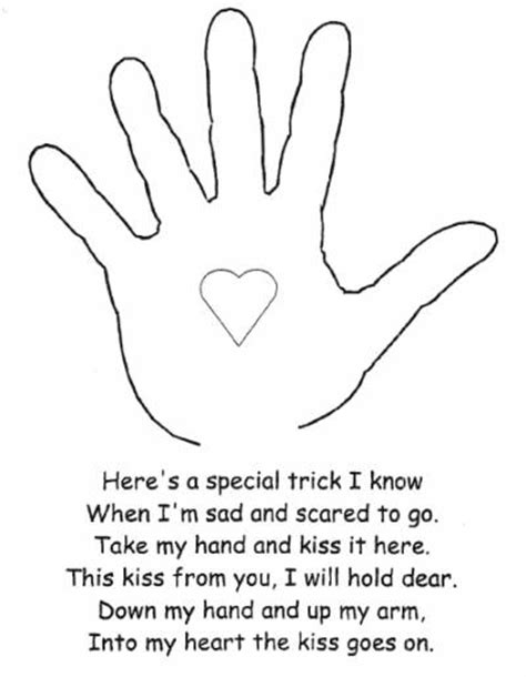 printable art activities for preschoolers the kissing hand activity lovetoteach org free