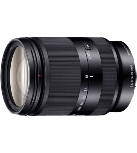 Lensa Zoom Sony Sony 18 200mm F 3 5 6 3 Oss Zoom Le E Mount Lens New Model