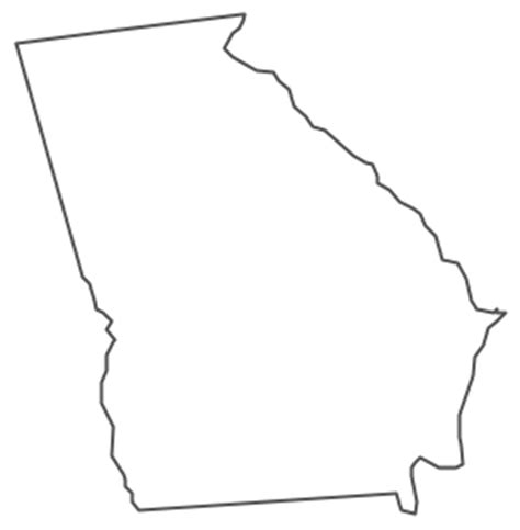 geo map usa georgia