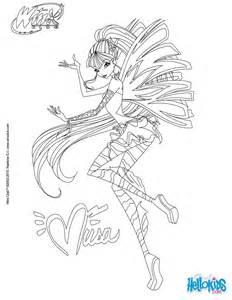 musa transformation sirenix coloring pages hellokids