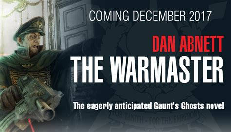 the warmaster gaunt s ghosts books dan abnett the warmaster new gaunt s ghost novel faeit