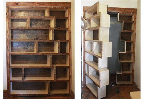 Living In Secret Room Bookcase Living