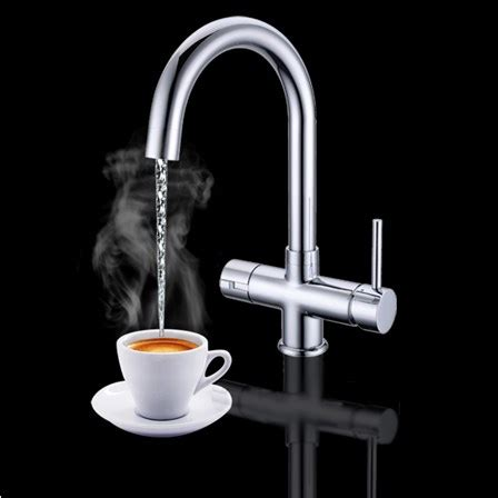 Boiling Faucet Water by Vellamo Java Instant And Cold Kitchen Sink Mixer