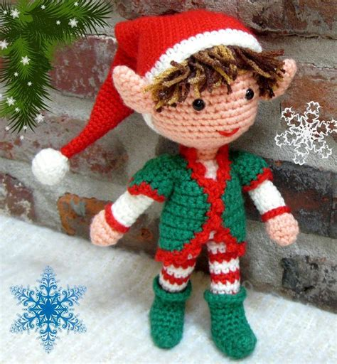 amigurumi elf pattern christmas elf crochet amigurumi doll by crochetcutedoll