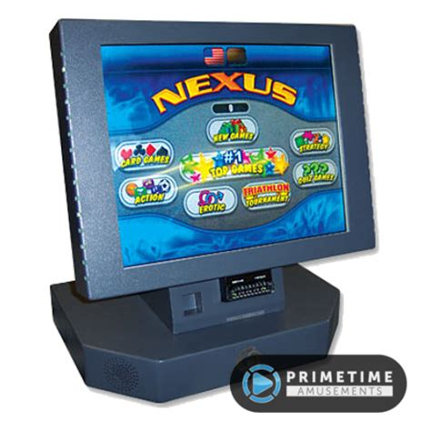 bar top touch screen games nexus counter top touchscreen game system primetime amusements
