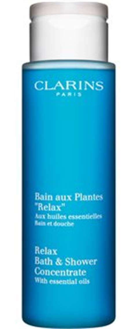 clarins relax bath shower concentrate clarins relax bath shower concentrate lifeandlooks