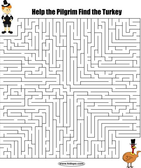 Maze Puzzle Parents Of The Animal thanksgiving maze thanksgiving teaching resources maze thanksgiving and activities