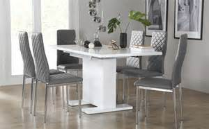 grey table and chairs extending dining table chairs extendable dining sets
