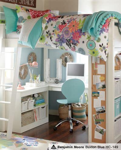 loft beds for teenage girls study area loft teenage girl bedroom idea simone zelne