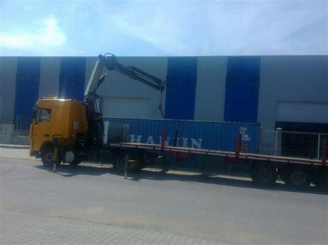 Trans Auto camion trans auto vyo transport containere