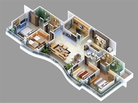 four bedroom apartment 50 four 4 bedroom apartment house plans bedroom