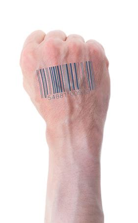 barcode tattoo hand diabolical loyalty system ready for mark of the beast