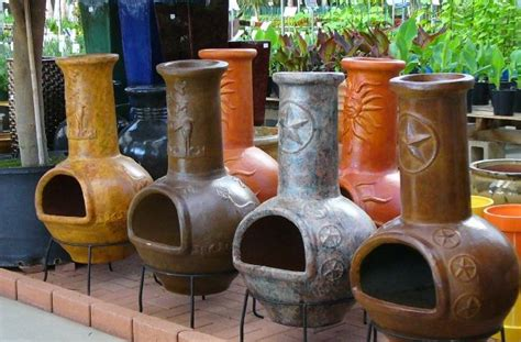 chiminea mexican traditional clay chiminea a mexican original chimineacharm