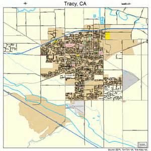 tracy california map 0680238