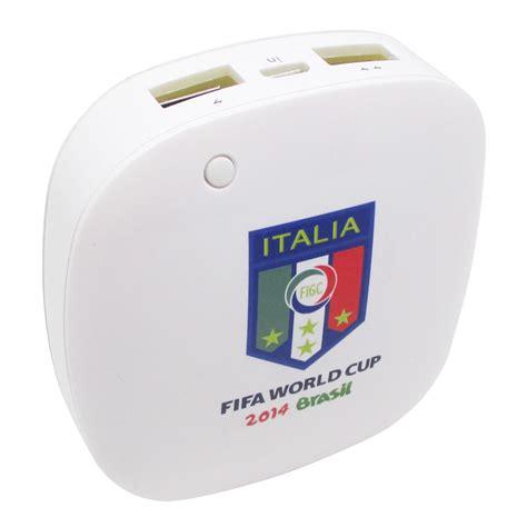 Smart Power Bank 6000mah E 144 taff smart power bank 6000mah 2014 brazil world cup 32 team italy mp60 white