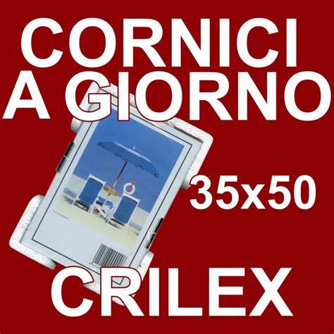 cornici 35x50 cornici a giorno in crilex pacco da 6 pz portafoto in