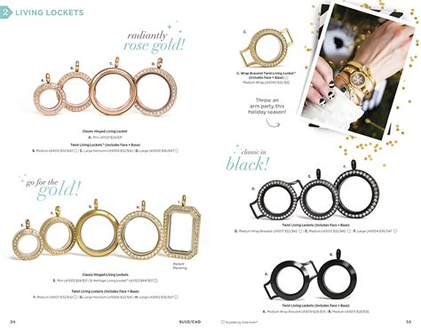 Origami Owl New Catalog - origami owl custom jewelry catalog