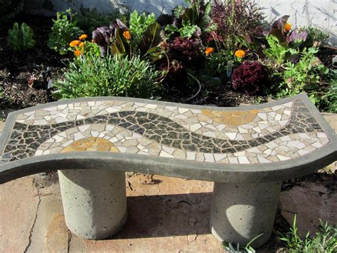 mosaic garden bench image gallery mosaic garden bench