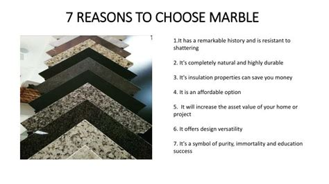 how to choose marble for ppt 7 reasons to choose marble powerpoint presentation id 7541619