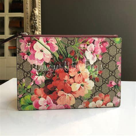Box Fulset Gucci gucci flowers clutch