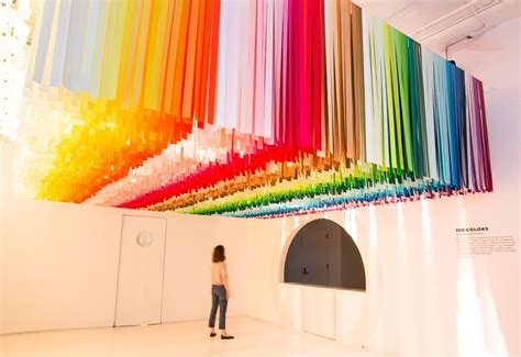 new york colors a look inside color factory s pop up exhibition in nyc