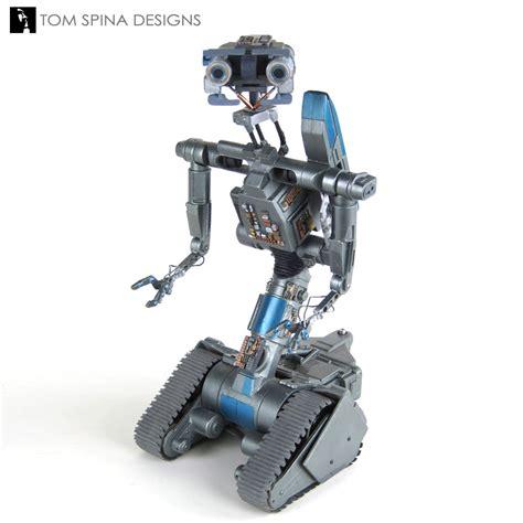 film robot johnny 5 johnny 5 short circuit 2 miniature movie prop restoration