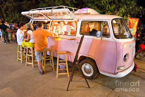 new retro vw car chic home bar vintage metal signs home vintage pink volkswagen bus photograph by luciano mortula