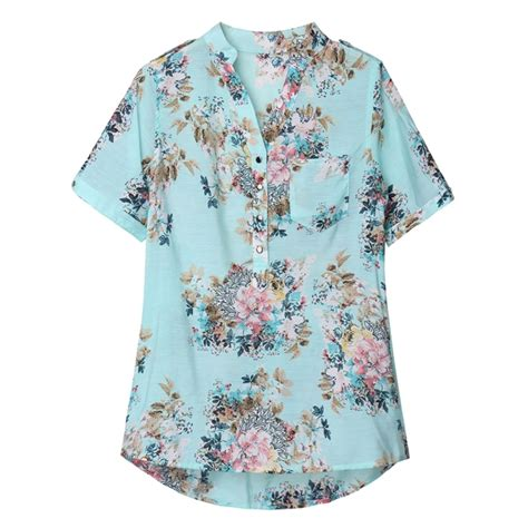 Floral Sleeve Chiffon Blouse floral print chiffon blouses flower printed