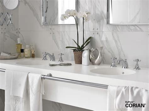 Modern Retro Bathroom Fir Italia Collaboration With Dupont Corian
