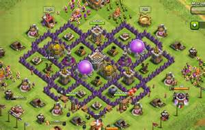 Clash of clans town hall level 7 farming base town hall bases
