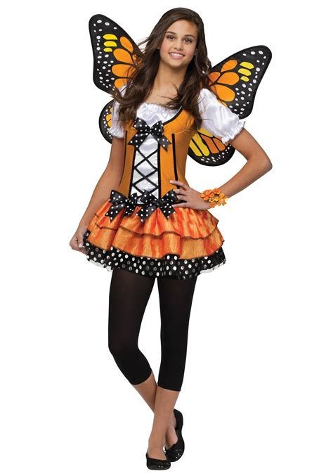 Girls Beautiful Butterfly Costume Party City | teen butterfly queen costume