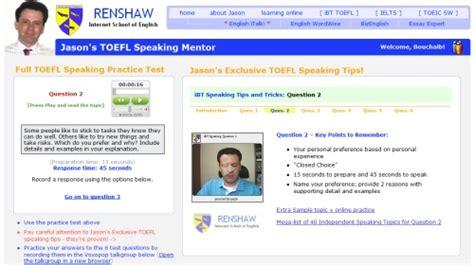 toefl speaking section practice online learning twigs toefl speaking tips and practice materials