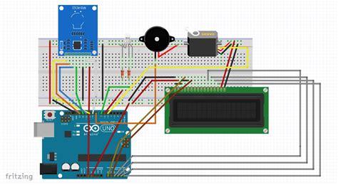rfid door rfid based automatic door system hackster io