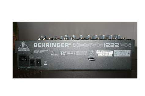 Mixer Behringer Xenyx 1222fx behringer xenyx 1222fx image 418072 audiofanzine