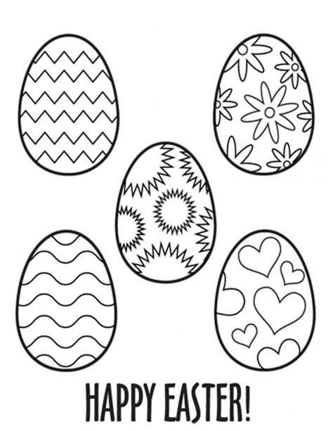 Egg Pattern Drawing | kids easter themed coloring pages print these secular