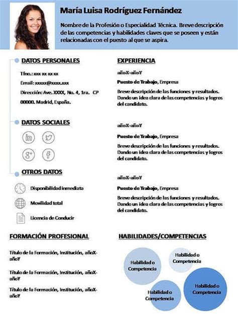 Plantilla De Un Curriculum Vitae Simple Search Results For Formato Curriculum Profesional Black Hairstyle And Haircuts