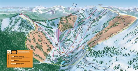 alpine mountain skimap org alpine trail map skicentral