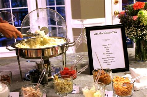 Mashed Potato Bar Toppings Wedding by Pin By Tiffanie Arthur On Brit S Shower