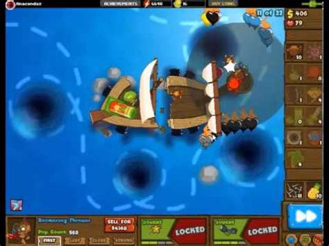 boat tower defense black and gold games bloons tower defense 5 banana boat