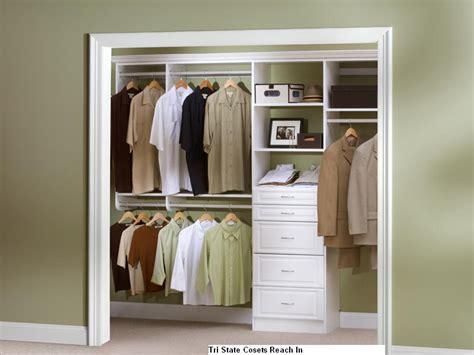 Closet Design by Reach In Closet Tri State Closets