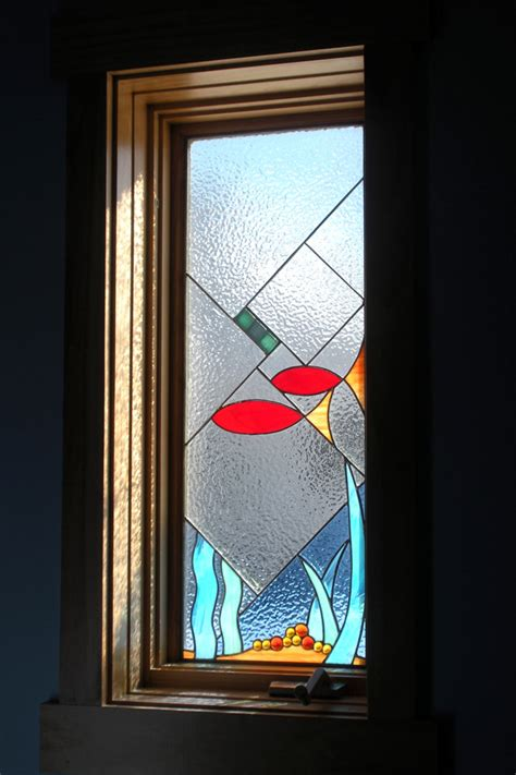 stained glass bathroom window stained glass windows kristin fundalinski designs