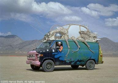 art cars on the playa | burning man