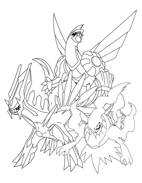 free darkrai coloring pages