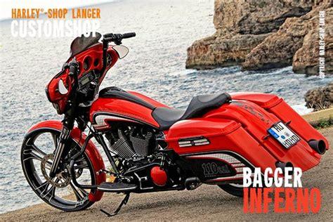 Motorrad Tuning Darmstadt by Glide Umbau Inferno Custombike Customshop Harley